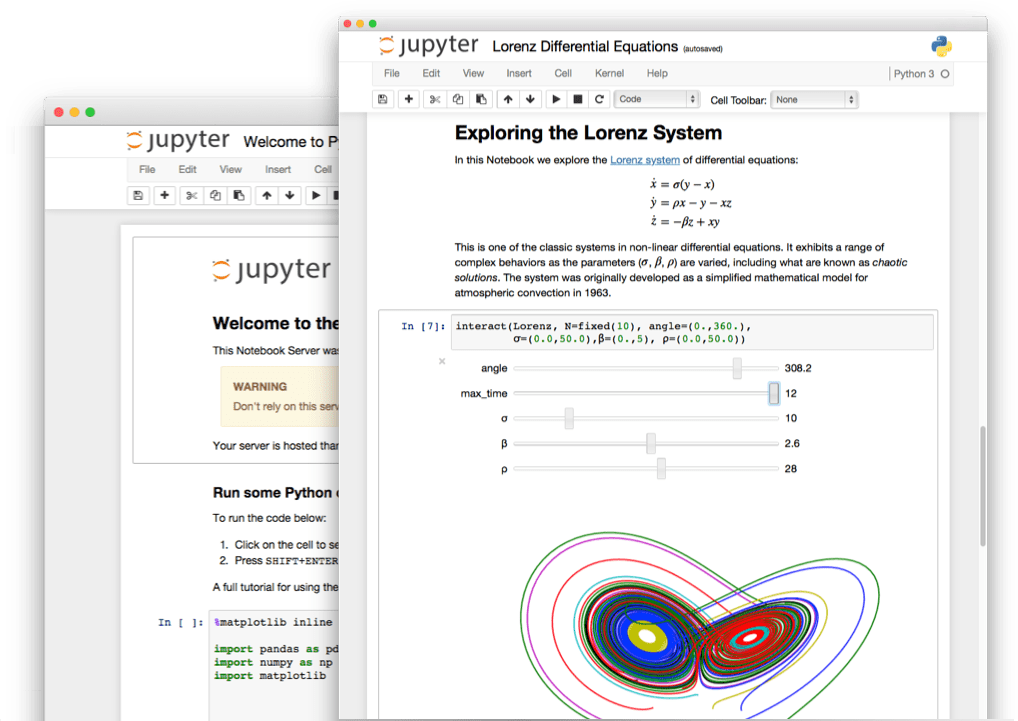 Jupyter Notebooks for Data Scientist at Sive IA